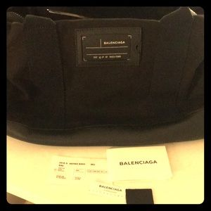 Balenciaga Military Tote Unisex Bag